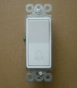 Decorative Momentary Contact Single Push Wall Switch