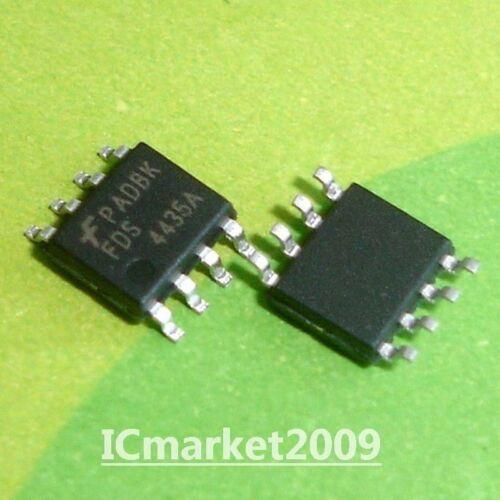 10 PCS FDS4435A SOP-8 FDS4435 4435A P-Channel MOSFET