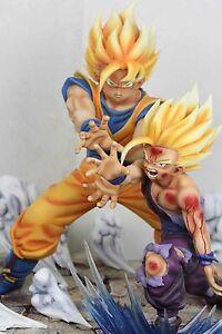 Dragonball-KAI-Father-Son-Goku-Gohan-Kamehameha-Resin-Statue-Diorama-Anime-Ver-1