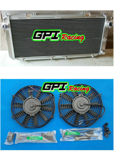 Aluminum Radiator /&FAN 1990-1995//99 for TOYOTA MR2//SW20 W20 3SGTE 1991