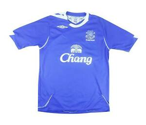 Everton 2006-07 Authentic Home Shirt (eccellente) M