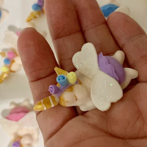 Baby Unicorn Cupcake Toppers For Baby Shower Kids Birthday Party Decor
