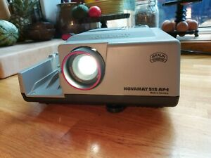 BRAUN-Novamat-515-AF-1-Slide-projector-Not-tested-Box-and-instructions