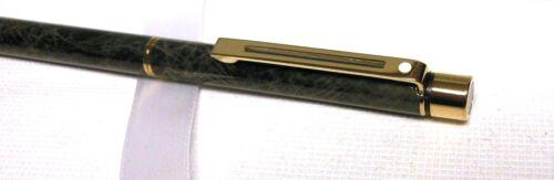 Sheaffer Targa Ballpoint Pen USA MADE Marbled Grey Lacquer /& Gold New