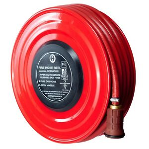 NEW-FIXED-MANUAL-FIRE-HOSE-REEL-19mm