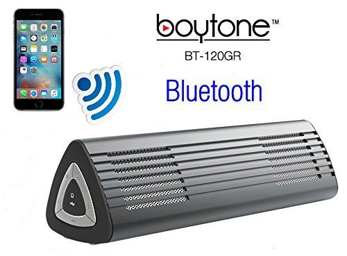 Boytone BT-120GR Portable Wireless Bluetooth Speaker Built-in Microphone NEW