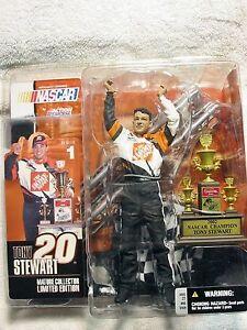 Tony Stewart Action McFarlane Figure Series 3 #20 Home Depot NASCAR Busch NIP