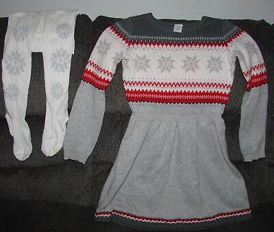 NWT Gymboree Snowflake fun Bunny Sweater Dress SZ 7,8,12 Girls
