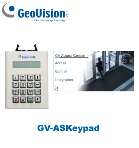 GV-ASKeypad Original Geovision Access Control Kaypad//Free Shipping Brand New