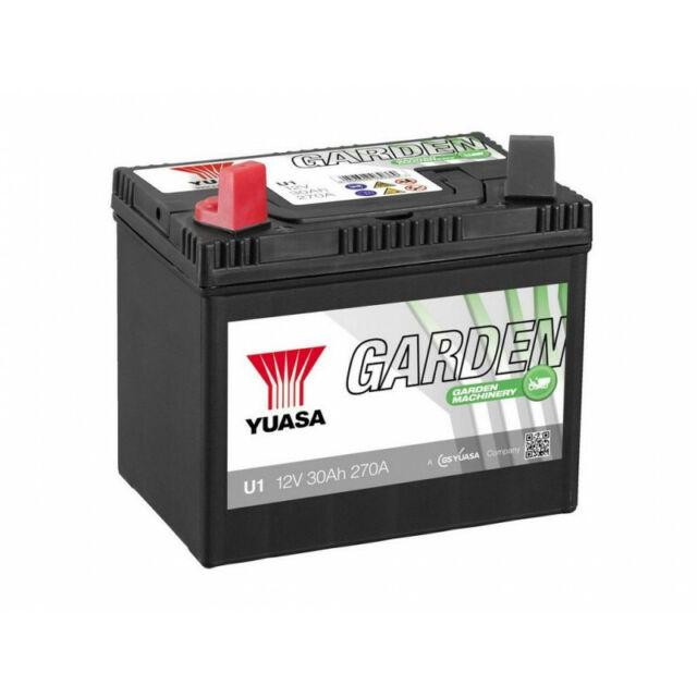 Batterie tondeuse YUASA U1 896 12V 30H 270A