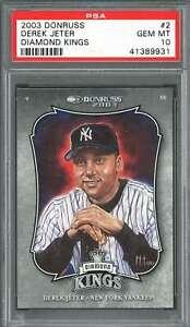 2003-donruss-diamond-kings-2-DEREK-JETER-new-york-yankees-PSA-10