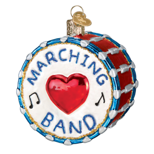 034-Marching-Band-034-38052-X-Old-World-Christmas-Glass-Ornament-w-OWC-Box