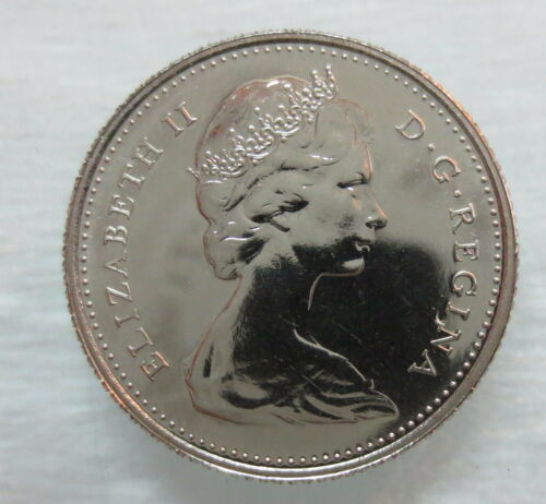 1977 CANADA 10 CENTS PROOF-LIKE DIME COIN