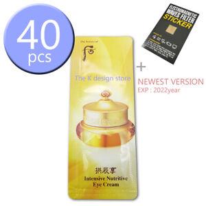 The-history-of-Whoo-Intensive-Nutritive-Qi-amp-Jin-Eye-Cream-1ml-x-10-40pcs-2gift