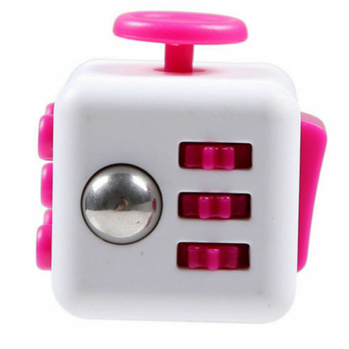 Fiddle Fidget Cube Children Kids Toy Adults Stress Relief ADHD Bag