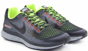 ef60f98e3cda NEW Nike Zoom Pegasus 34 Shield GS Water Repel Shoes Size 7Y Running ...