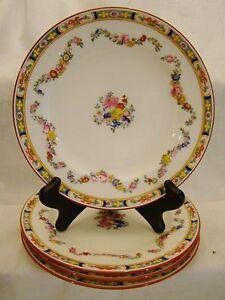 "Antique Minton Rose Bone China Dessert Plates  7 3//4/"" 1916-1917"