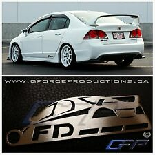 Honda Civic FD / CSX JDM Stainless Steel metal custom Key chain FA FG FK FN FD