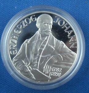 100 Scellini Austria 1994 arciduca Johann ARGENTO