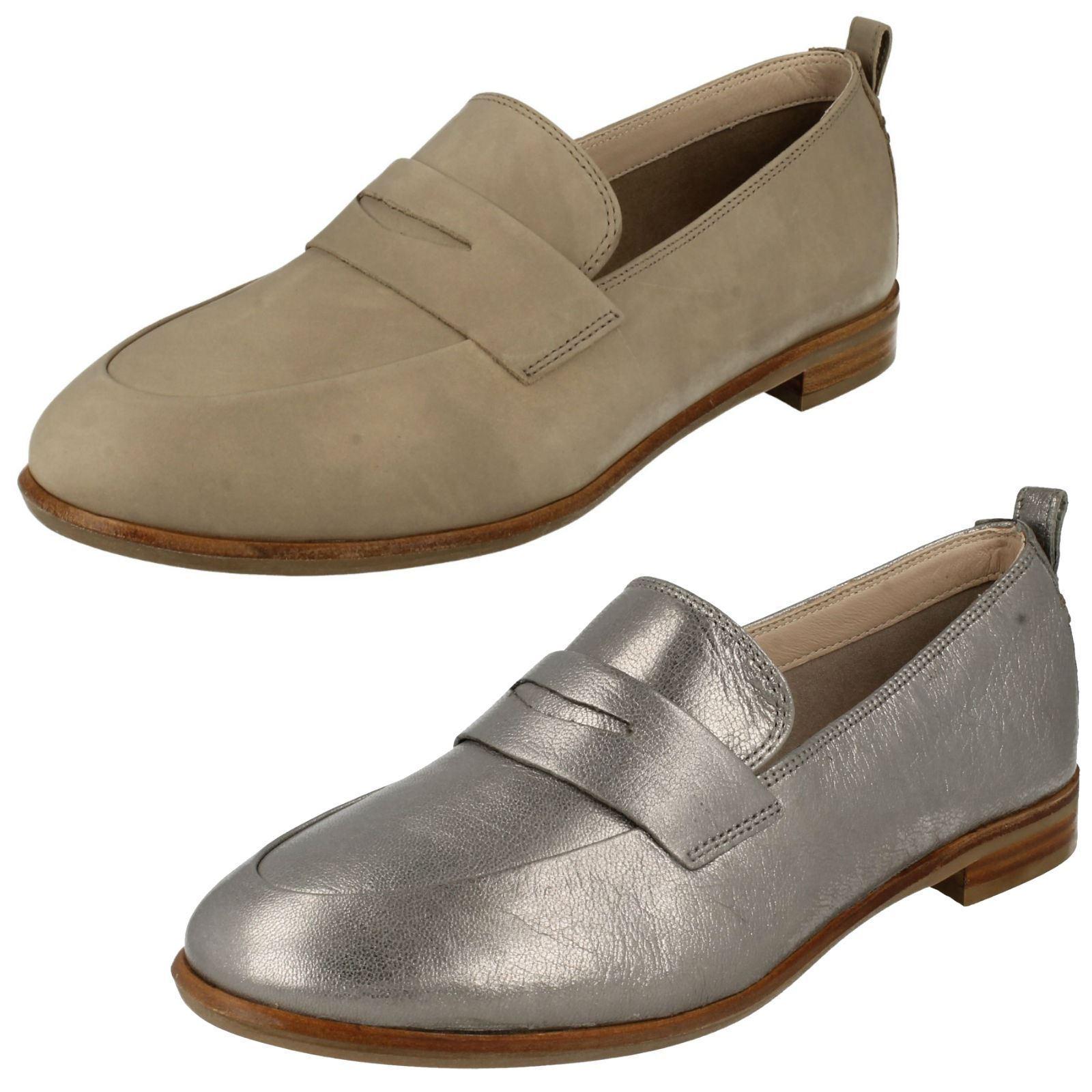 Zapatos de mujer baratos zapatos de mujer Descuento por tiempo limitado Ladies Clarks Smart Slip On Loafers