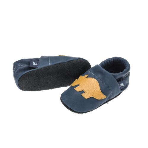Baby Krabbelschuhe Dino Lauflernschuhe Pantau Kinder Lederpuschen Babyschuhe