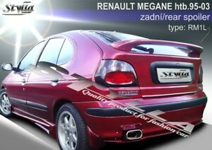 Details about SPOILER REAR BOOT TRUNK TAILGATE RENAULT MEGANE I 1 MK1 MKI  WING ACCESSORIES