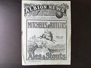 WEST-BROMWICH-ALBION-V-SUNDERLAND-1931-32