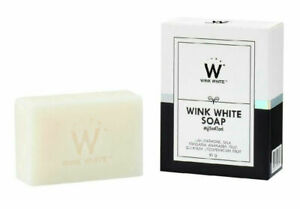 NEW-WINK-WHITE-GLUTA-PURE-SOAP-FACIAL-BODY-WHITENING-BEAUTY-SKIN-ANTI-AGING