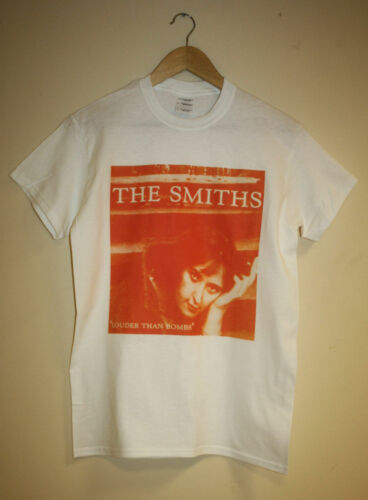 THE SMITHS LOUDER THAN BOMBS T-SHIRT INDIE VINTAGE MORRISSEY 80S HIPSTER RETRO