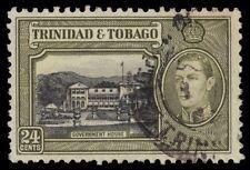 "TRINIDAD & TOBAGO 58 (SG253) - KGVI ""Government House"" (pa31037)"