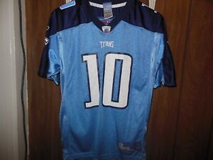 NFL Vince Young Tennessee Titans Jersey Boys Large | eBay