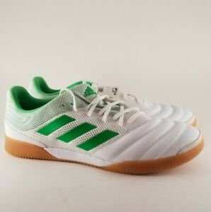 Adidas-Men-039-s-COPA-19-3-In-Sala-BC0559-Indoor-Soccer-cleats-Spikeless-White-12-5