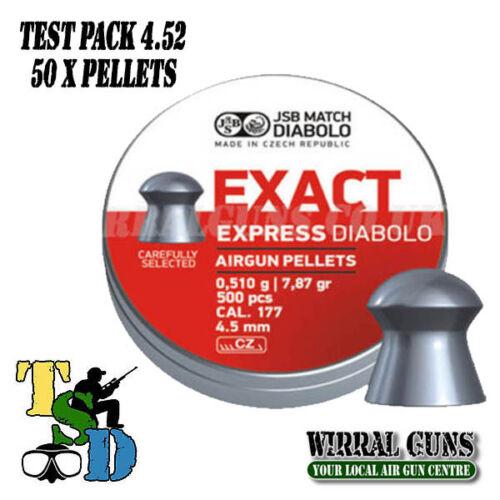 Sample Pack X 50 JSB Exact Express .177-4.52