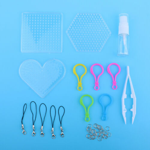 1Set Clear Perler Beads Pegboard Bead Refill Kits for DIY Children Toy Craft
