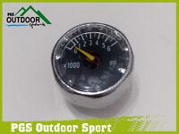 Paintball Hpa High Pressure Air Co2 Micro Mini Pressure Gauge 6000psi 1/8npt