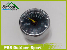 "Paintball HPA High Pressure Air Co2 Micro Mini Pressure Gauge 6000psi 1/8""NPT"