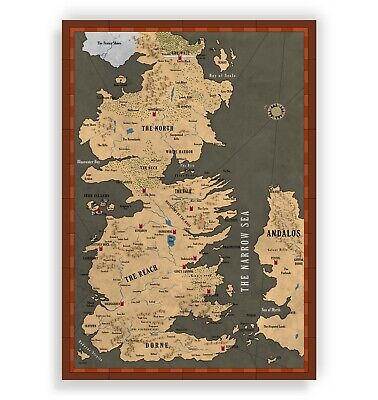 Gift game of thrones map the Seven Kingdoms