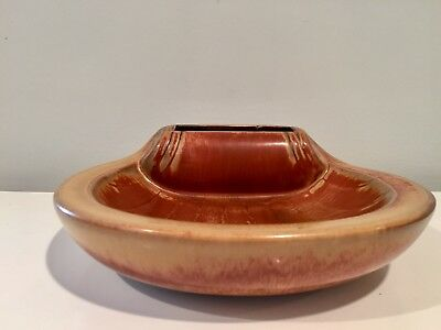 Gunnar Nylund for Rorstrand Pottery Ceramic Ashtray w Match & Cigarette Holder