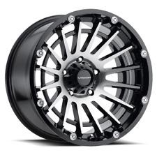 20 Inch 6x1397 4 Wheels Rims Vision 417 Creep 20x10 25mm Black Machined Fits More Than One Vehicle