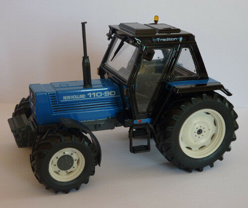 ROS New Holland 110-90  Tractor 1 32 Scale Boxed NEW Limited Edition Fiat