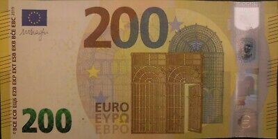 200 euro issue 2019 Gem UNC !
