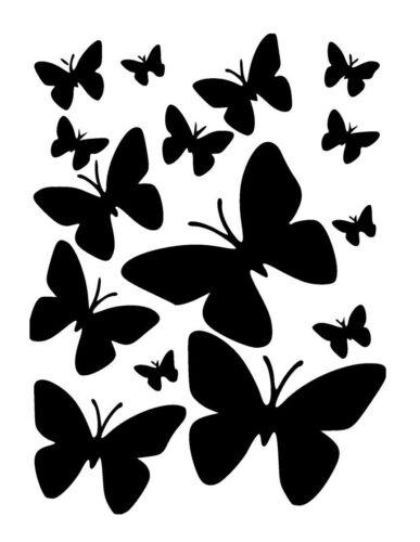 high detail airbrush stencil butterflies ten FREE UK  POSTAGE