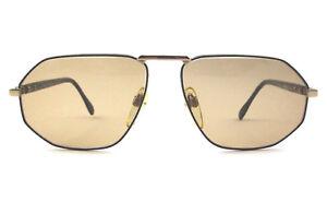 9f49071577 Dettagli su occhiale da sole Silhouette vintage unisex M.7088/30 colore  oro/nero/V6053