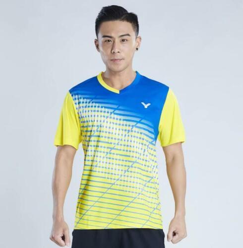 2019 New victor men/'s sports Tops tennis//badminton Clothes Quick-drying T shirts