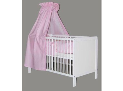 BabybettJuniorbettKinderbettumbaubarweiss140x70 NILS Komplett Set