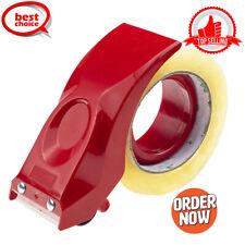 Tape Gun Dispenser Packaging 2 Inch Sealing Cutter Red Handheld Warehouse Tools