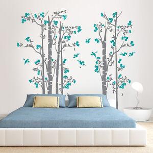 01372-Wall-Stickers-Adesivi-Murali-parete-decoro-muro-piante-Alberi-190x170-cm