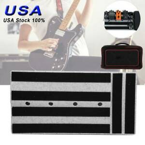 Portable-Electric-Guitar-Effects-Pedal-Board-with-Carry-Bag-Pedalboard-Case-USA
