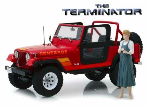 "Greenlight 1:18 19060 1983 Sarah Connor/'s Jeep CJ-7 /""Terminator/"" with Figure"