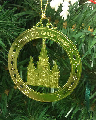 Personalized Provo City Center Temple Polished Brass ...